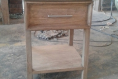 Rubberwood Pedestal
