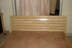 Rubberwood headboard