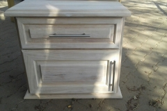 Large Rubberwood Pedestal