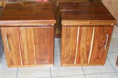 The Penni kiaat bedside tables
