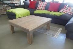Brian rubberwood coffee table