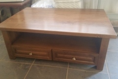 Coffee table with matching display unit (see below)
