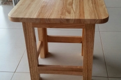 Rubberwood coffee table