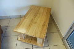 The Martha Rubberwood coffee table