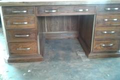 Rubberwood Desk, monocoated