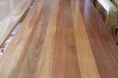 3.8 metre Mahogany boardroom Table