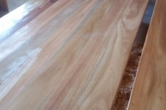 Mahogany boardroom table, 3.8 metres
