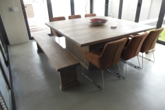 Brian rubberwood dining table resized