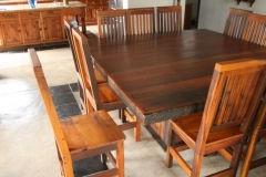 Engela sleeper wood dining suite