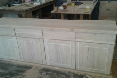 Rubberwood sideboard/server