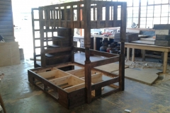Bunks with staircase