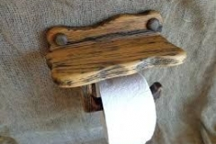 Sleeper toilet roll holder