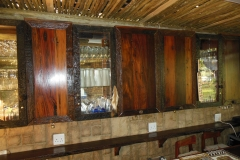 Sleeper wood doors