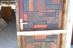 Sleeper wood door