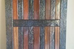 Sleeperwood pivot door