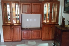 Rosewood Plasma wall unit