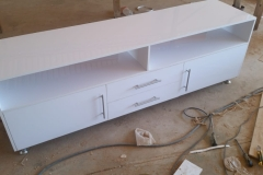 Ultra Modern White Gloss  Plasma unit