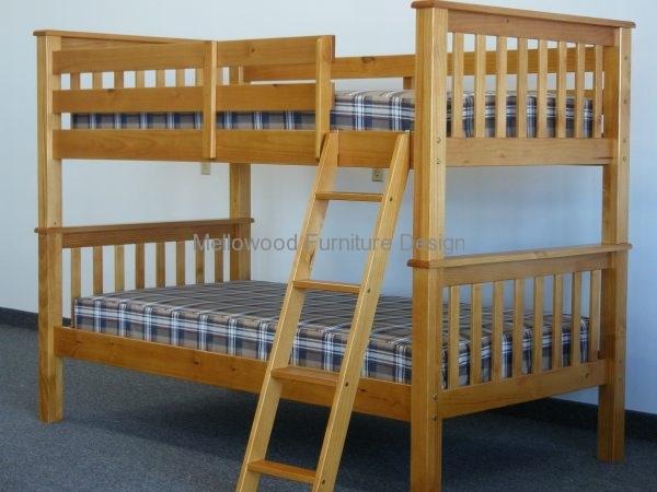 Standard bunk beds