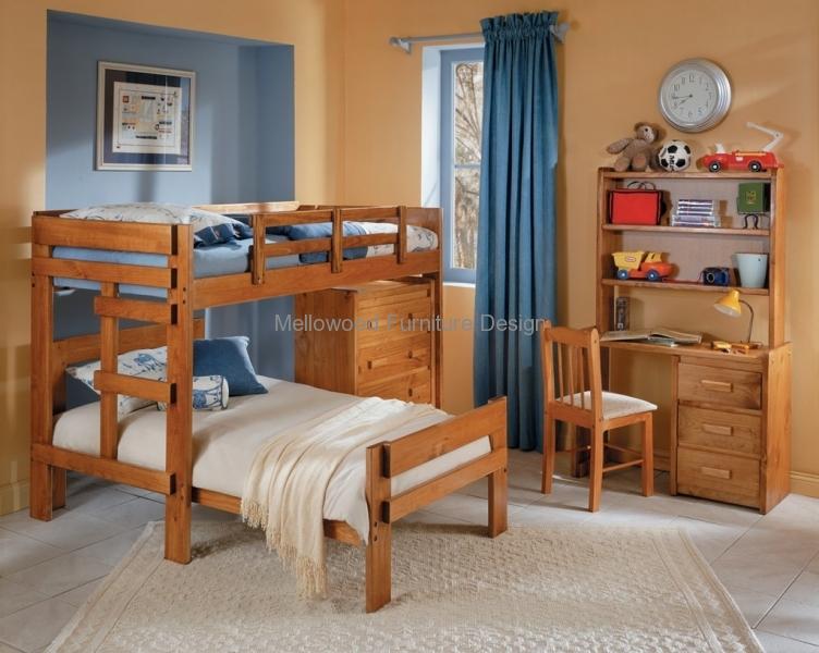 L-shaped bunks