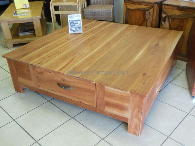 bark coffee table