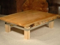 Rustic table with strap