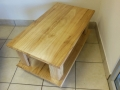 The Martha Rubberwood coffee table