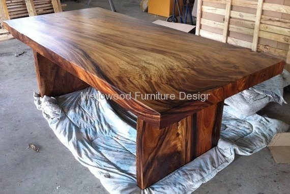 Mellowood furniture design - Table basse bois massif exotique ...