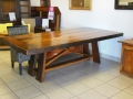8 seater sleeper wood refractory table