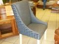 Fully upholstered Karen chair
