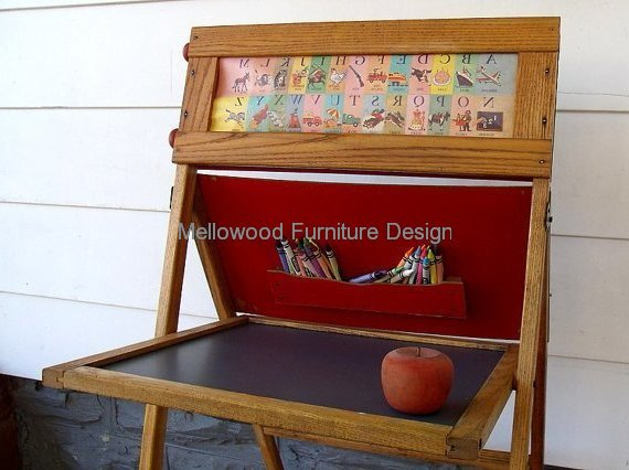 The Funky Folding Easel and Desk