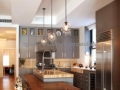 Contemporary Kitchen with stainless steel