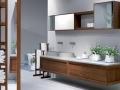 Wood accessorised bathroom