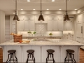 White melamine kitchen