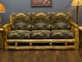 Log couch