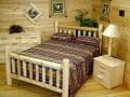 Log double bedroom suite