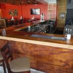 Hooters bar and bar stools